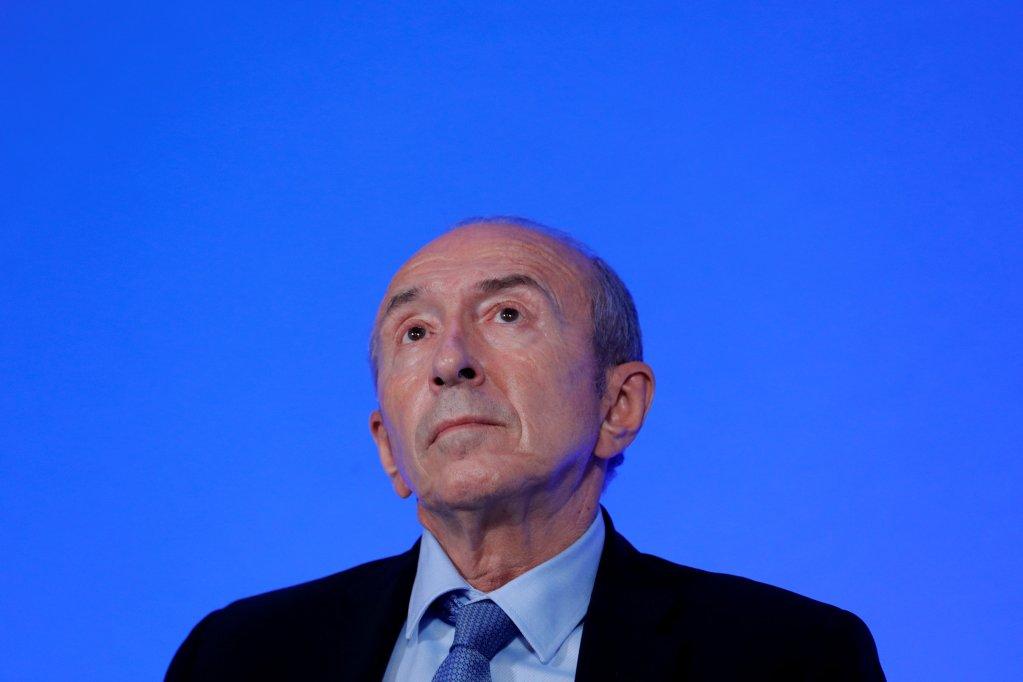 Gérard Collomb, ministre français de l'Intérieur. Crédit : Reuters