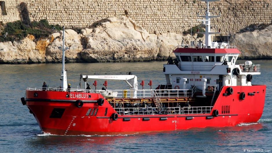 El Hiblu I sailing in Valletta's Grand Harbour | Photo: Reuters/D.Z.Lupi