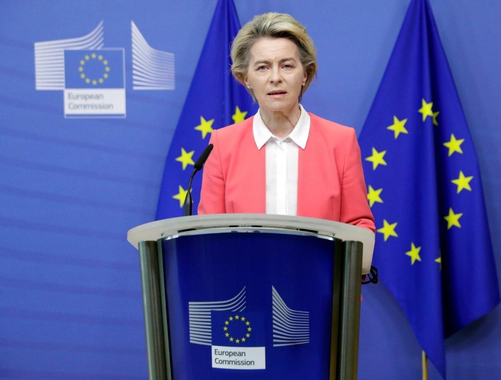 اورزولا فون دیر لاین، رئیس کمیسیون اتحادیه اروپا / عکس از رویترز