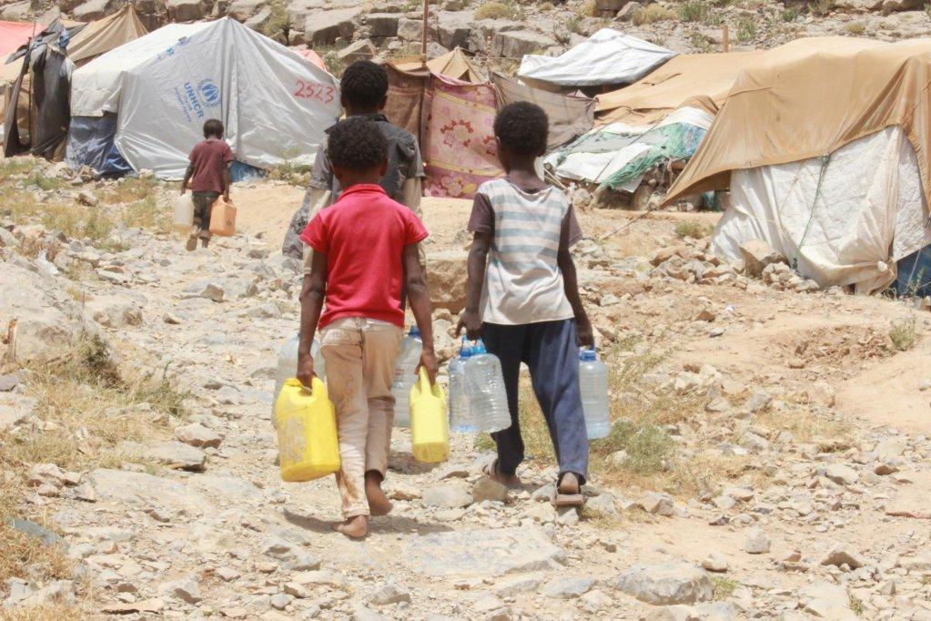 ansa / لاجئون في السودان. المصدر: منظمة أوكسفام
