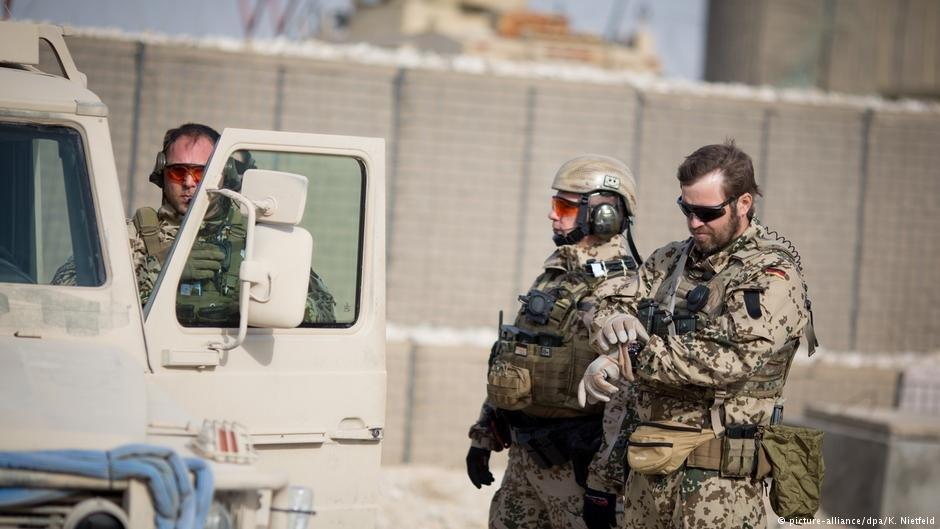 عکس از (Picture_alliance)/  نیروهای آلمانی در افغانستان را نشان میدهد