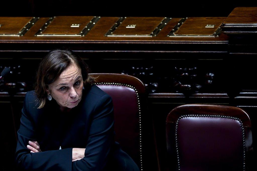 Italian Interior Minister Luciana Lamorgese   Photo: ANSA/Angelo Carconi