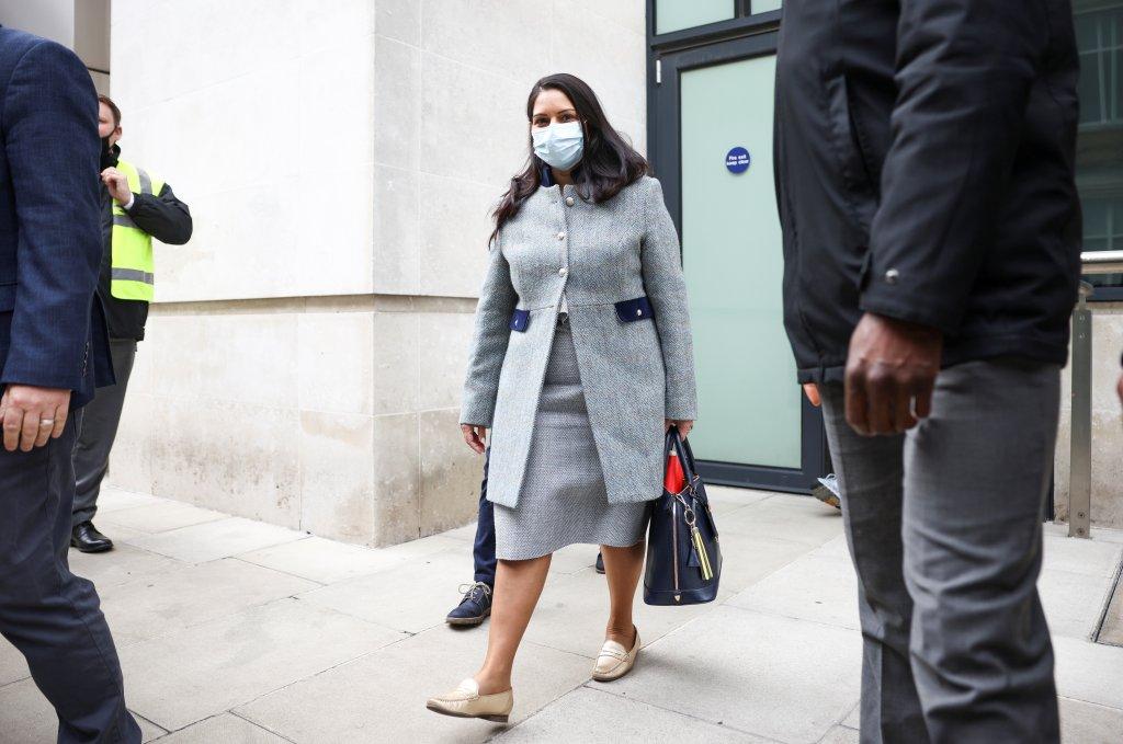 Priti Patel, Britain's Home Secretary, May 23, 2021 | Photo : Reuters