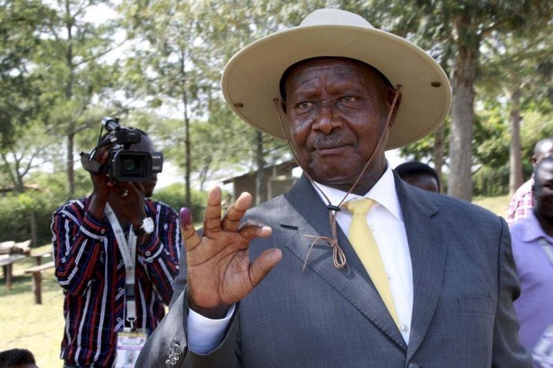 REUTERS/James Akena |Le président ougandais Yoweri Museveni.