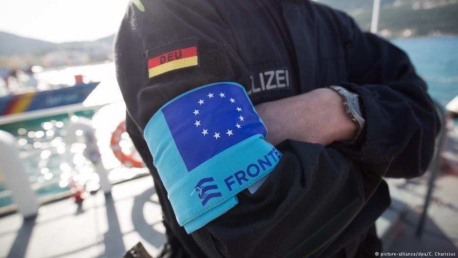 ضابط ألماني يعمل في وكالة حرس الحدود الأوروبية فرونتكس