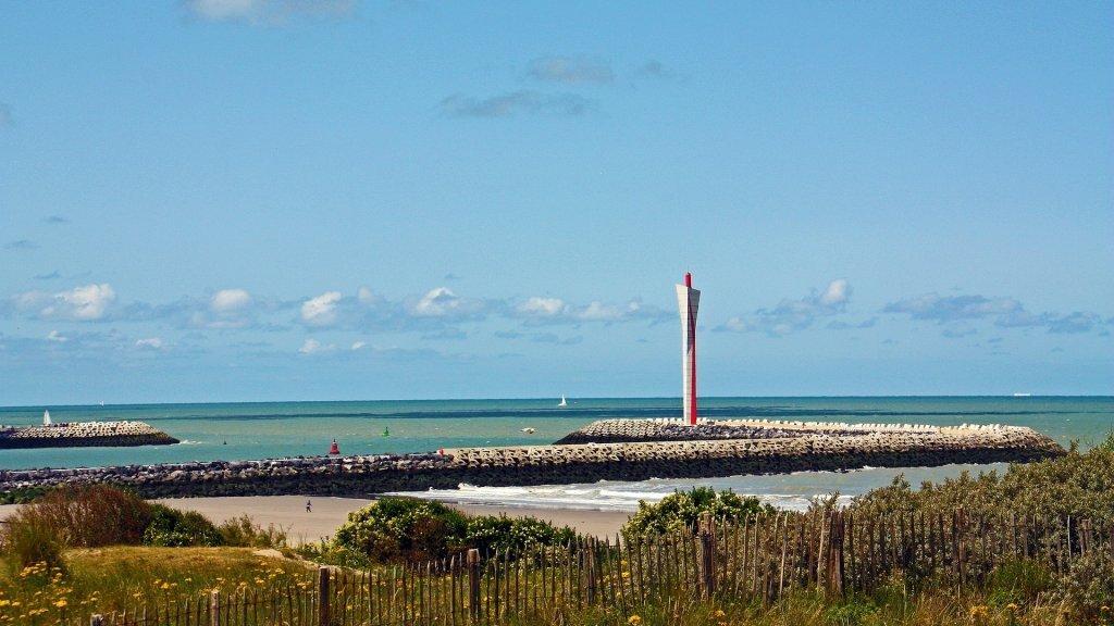 ساحل اوستاند در بلژیک. عکس از پیکسابی