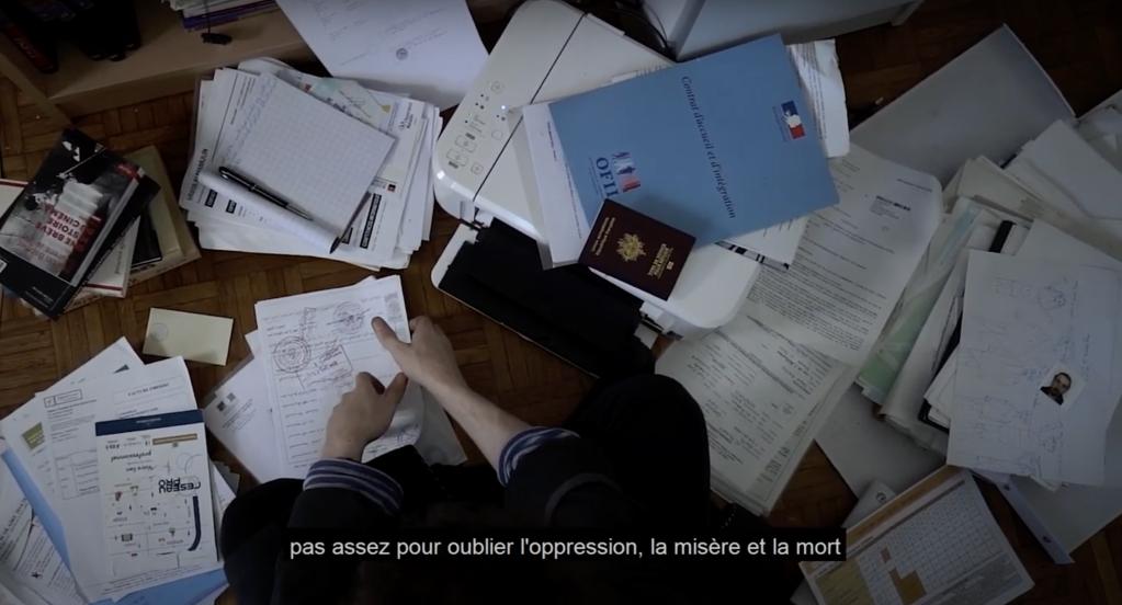 مقطع من فيديو  غيث المأمون بعنوان : لمحة عن حجر صحي Glimpse Of a Quarantine.