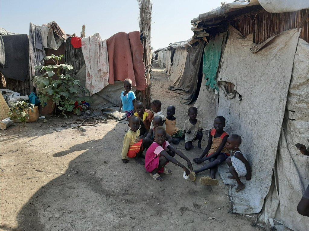 Sébastien Nemeth / RFI |Le camp de déplacés de Bentiu, au Soudan du Sud, le 14 novembre 2019.