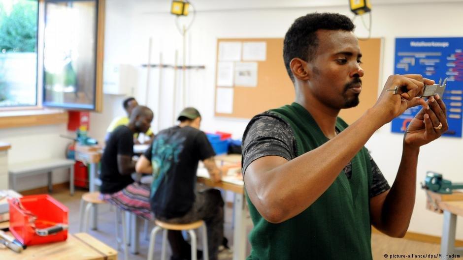 یک پروژه دوره آموزشی کاری برای پناهجویان در بایرن