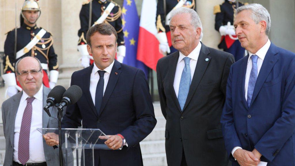 Ludovic Marin, AFP |Emmanuel Macron, lors d'une conférence de presse, le 22 juillet, à l'Élysée.