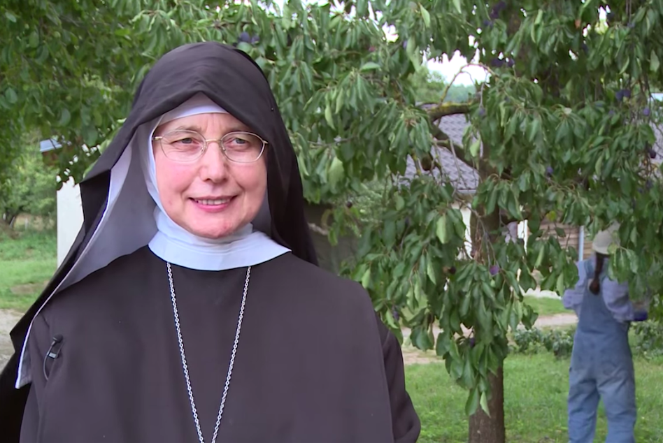 Mother Mechthild Thürmer, Abbess of Maria Frieden Abbey since 2011 | Photo: Screenshot from YouTube video by the Bamberg Archdiocese