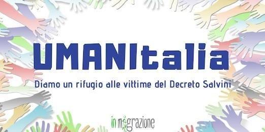 The logo of the Umanitalia initiative | Photo: In Migrazione