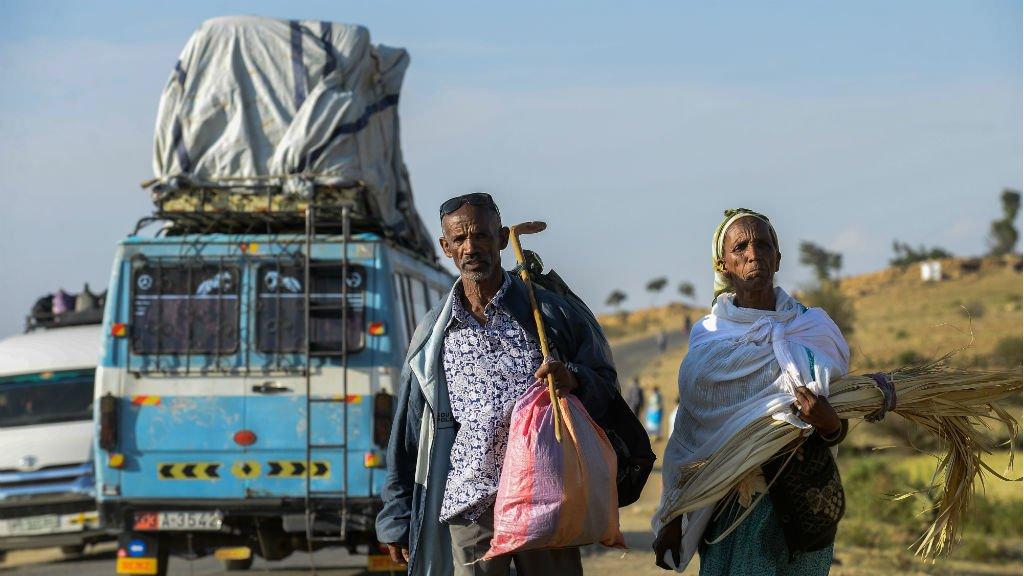 Michel Tewelde, AFP |La paix et la réouverture des frontières terrestres en septembre ont intensifié un exode des Érythréens vers l'Éthiopie.