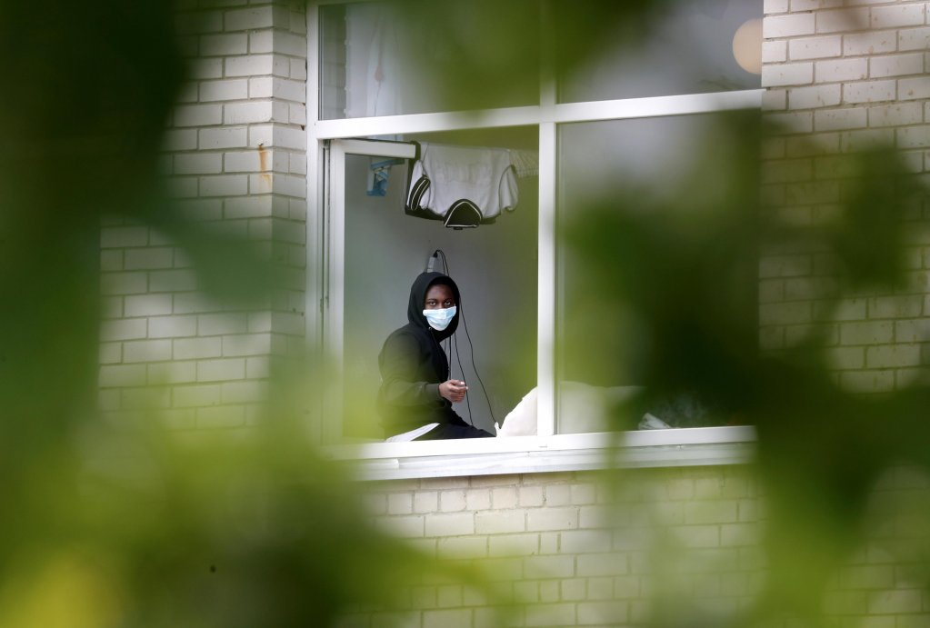 A migrant at a detention center in Vydeniai, Lithuania | Photo: EPA/Toms Kalnins