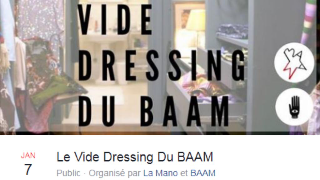 Le Baam organise un vide-dressing pour les migrantes le 7 janvier 2017, à Paris.