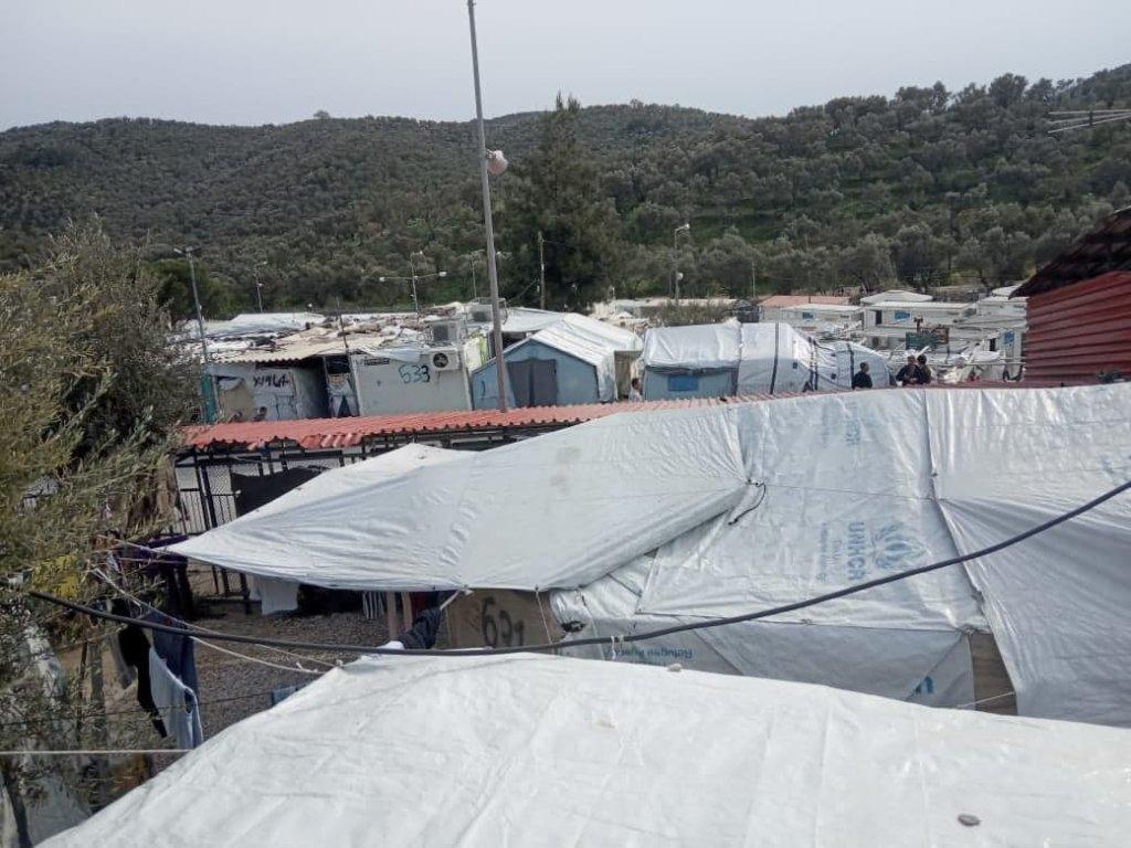 موریا کمپ. کرېډېټ: زهرا حسیني