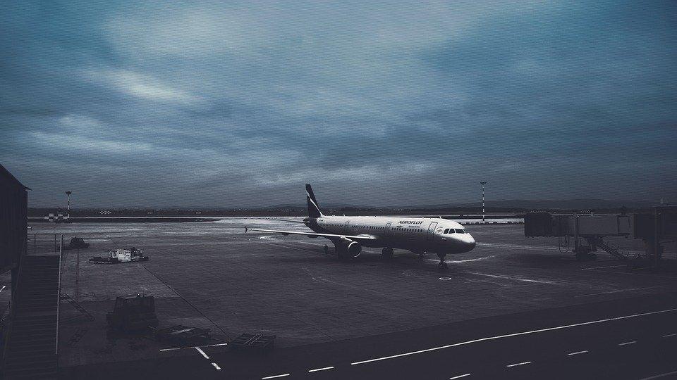 فرودگاه مسکو. عکس از پیکسابی