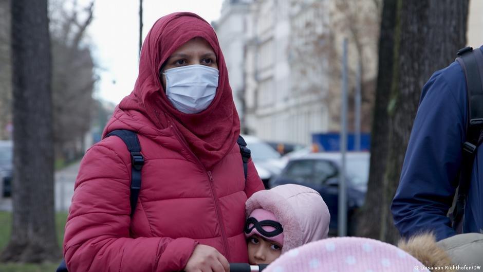 سحر گلثوم آرزو دارد که در آلمان بماند و زندگی خود را در این کشور ادامه بدهد Photo: Luisa von Richthofen/DW