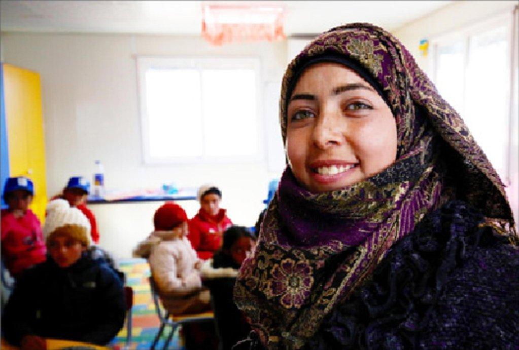 ANSA / مبادرة للمساعدة في توظيف اللاجئين السوريين في الأردن / مصدر الصورة: يو كي ناريك.