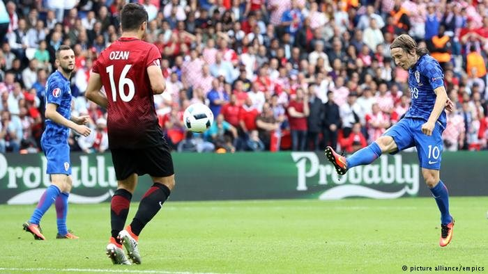Luka Modric scored goals in a hotel parking lot before he scored them for Croatia.