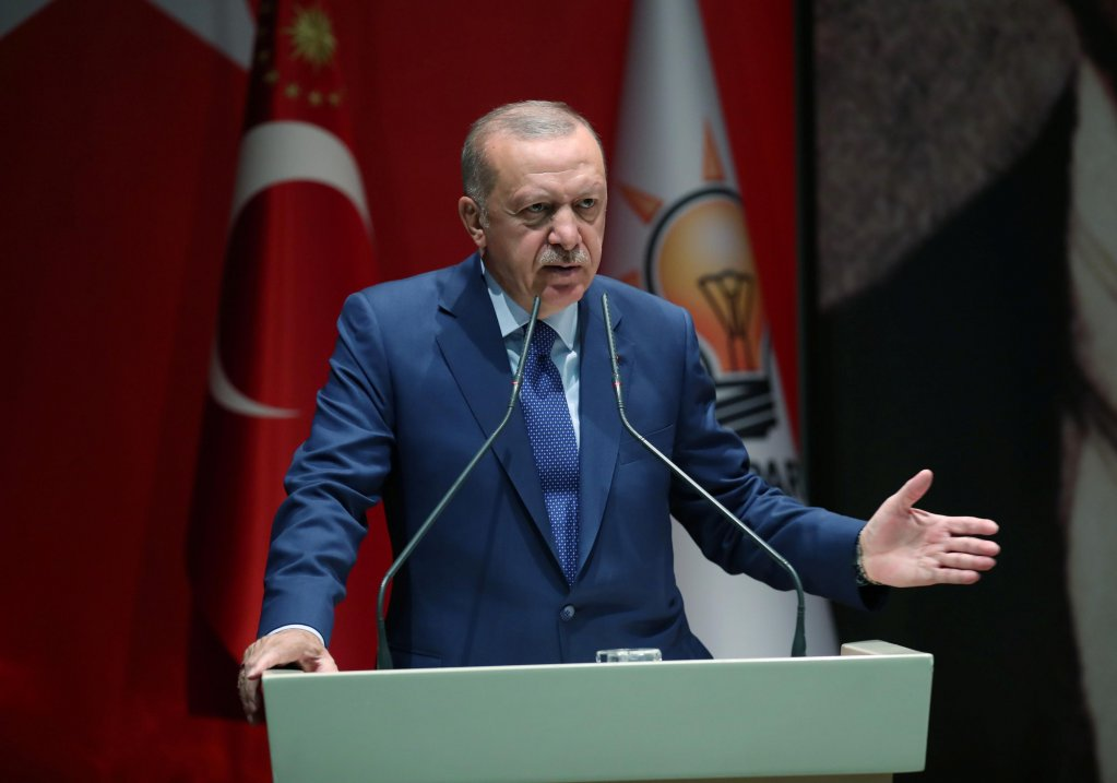 Murat Kula/Presidential Press Office/Handout via REUTERS |Le président turc Recep Tayyip Erdogan à Ankara, le 5 septembre 2019.