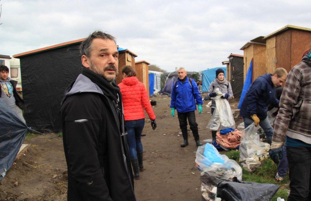 """الناشط الفرنسي يان منزي مؤسس جمعية """"يوتوبيا 56"""". الصورة: جمعية """"يوتوبيا 56"""""""