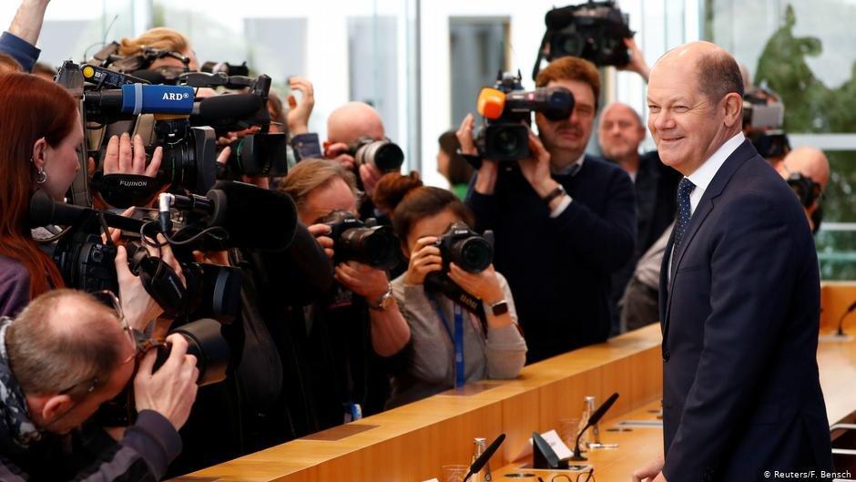 German Finance Minister Olaf Scholz | Photo: Reuters/F.Bensch