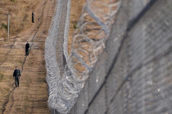 حصار مرزی اروپا  میان بلغاریا و ترکیه. عکس آ اف پ/ نیکولای دواچینوف