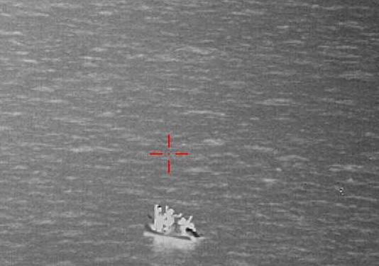 له ارشیف څخه. کرېډېټ: د مانش کانال او د شمالي سمندر قومندانۍ ټویټر پاڼه