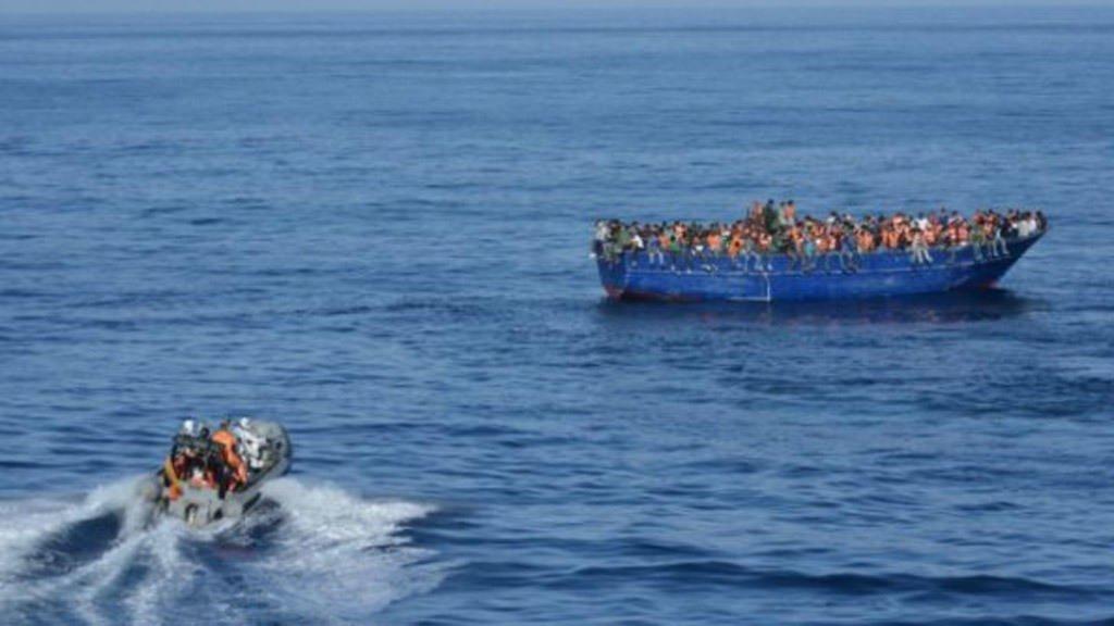 صورة رمزية من الأرشيف عن الهجرة السرية