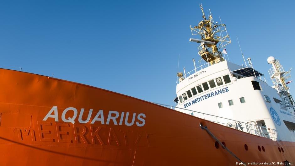 The Aquarius rescue ship in 2016 | Photo: picture-alliance/abaca/C. Mahoudeau
