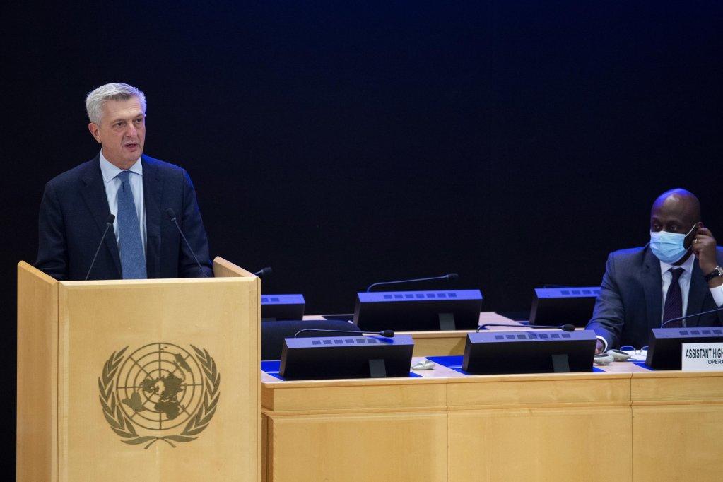 Filippo Grandi, UN High Commissioner for Refugees, in Geneva, Switzerland, on October 5, 2020 | Photo: EPA/Salvatore Di Nolfi
