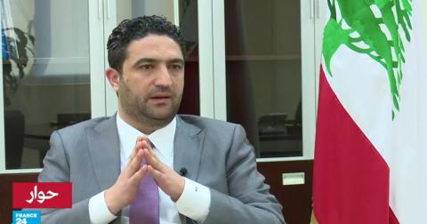 حوار وزير الدولة لشؤون النازحين اللبناني