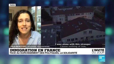 """Le livre """"Carnets de solidarité"""" sort le 7 octobre. Crédit : France 24"""