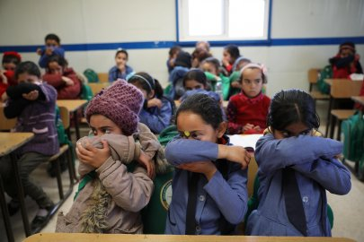 AR NW PKG CORONA  CAMPS DE REFUGIES PALESTINIENS