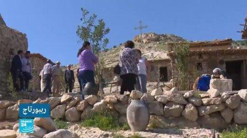 العراق: الحياة تدب من جديد في قرية القوش التاريخية المسيحية قرب الموصل