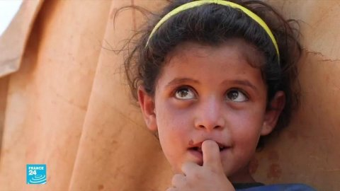 ريبورتاج عن مخيمات نازحي سوريا
