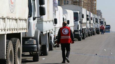 ترحيب بتمديد المساعدات الأممية للنازحين في إدلب