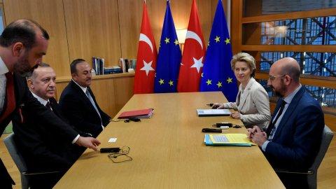 تركيا - أردوغان في بروكسل