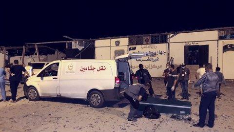 FR NW PKG LIBYE FRAPPES AERIENNES MIGRANTS 6H