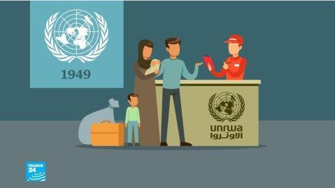 فيديو غرافيك: الأونروا تحتفل بالذكرى السبعين لتأسيسها في ظل أسوأ أزمة مالية تشهدها