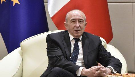 """Gérard Collomb : """"Il y a une volonté commune d'agir contre les passeurs et l'immigration clandestine"""""""