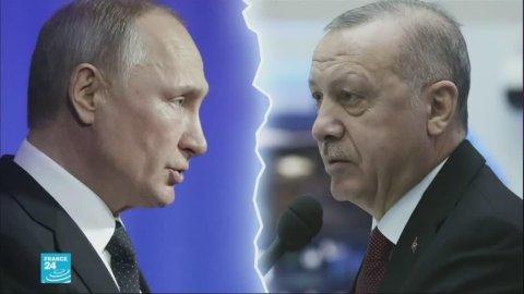 الخلاف التركي الروسي في إدلب
