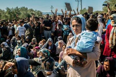 """Au Camp de Moria, des conditions d'accueil """"déplorables"""" pour les migrants"""