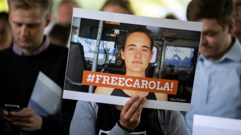 La capitaine du Sea-Watch déclarée libre par la justice italienne