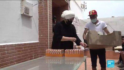 Crise migratoire entre le Maroc et l'Espagne : les habitants de Ceuta viennent en aide aux migrants