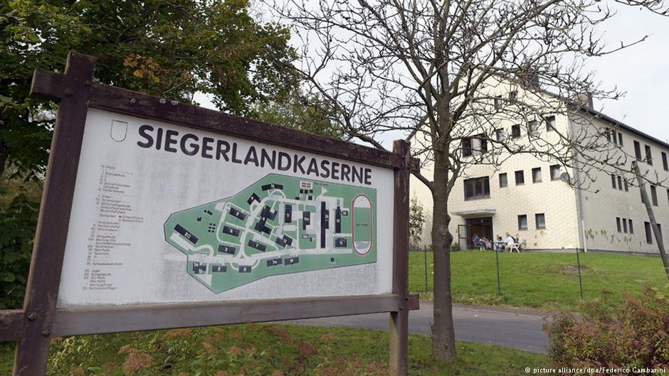 The regional government has since handed the management of the Burbach asylum reception center over to another company  Credit picture-alliancedpaFederico Gambarini
