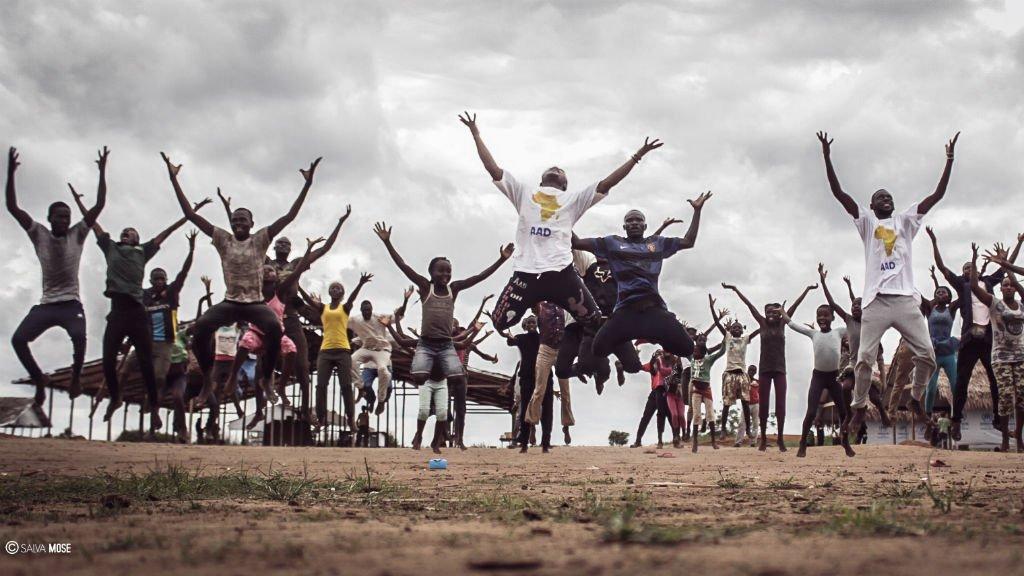 AAD  |Atelier de danse organisé dans le camp de réfugiés d'Inke, en République démocratique du Congo.