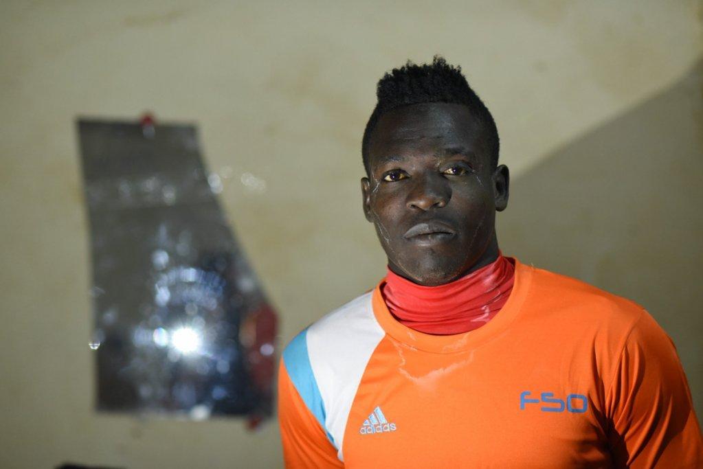 Abdulhadi Miko dreams of playing football in a European club Photo Mehdi Chebil
