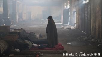 يعاني اللاجئون في صربيا من العوز والفاقة